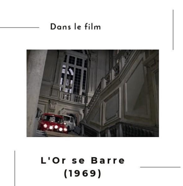 """Image extraite du film """"L'or se barre"""" de 1969 à Turin"""